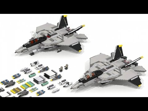 [Full-Download] How To Build A Futuristic Fighter Lego