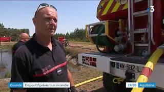 La Gironde en pré alerte incendie sur les feux de forêts