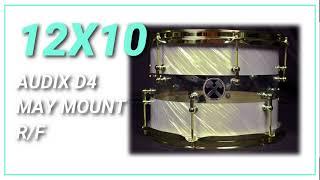 12x10 Hybrid Tom Tom HD Sound Sample