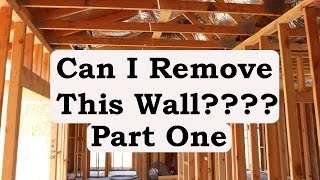 Watch This Video Before Removing Interior Walls or Making Door Openings Larger - Remodeling Advice