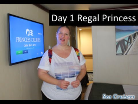 Day 1 Cabin & Lunch! Regal Princess Cruise Vlog episode 2