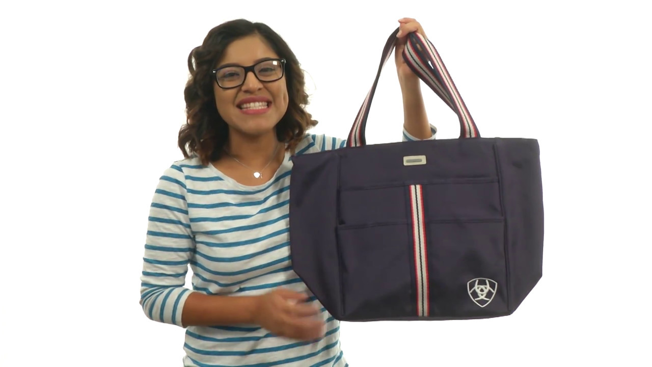 87a69b938 Ariat Team Carryall Tote SKU:8920513 - YouTube