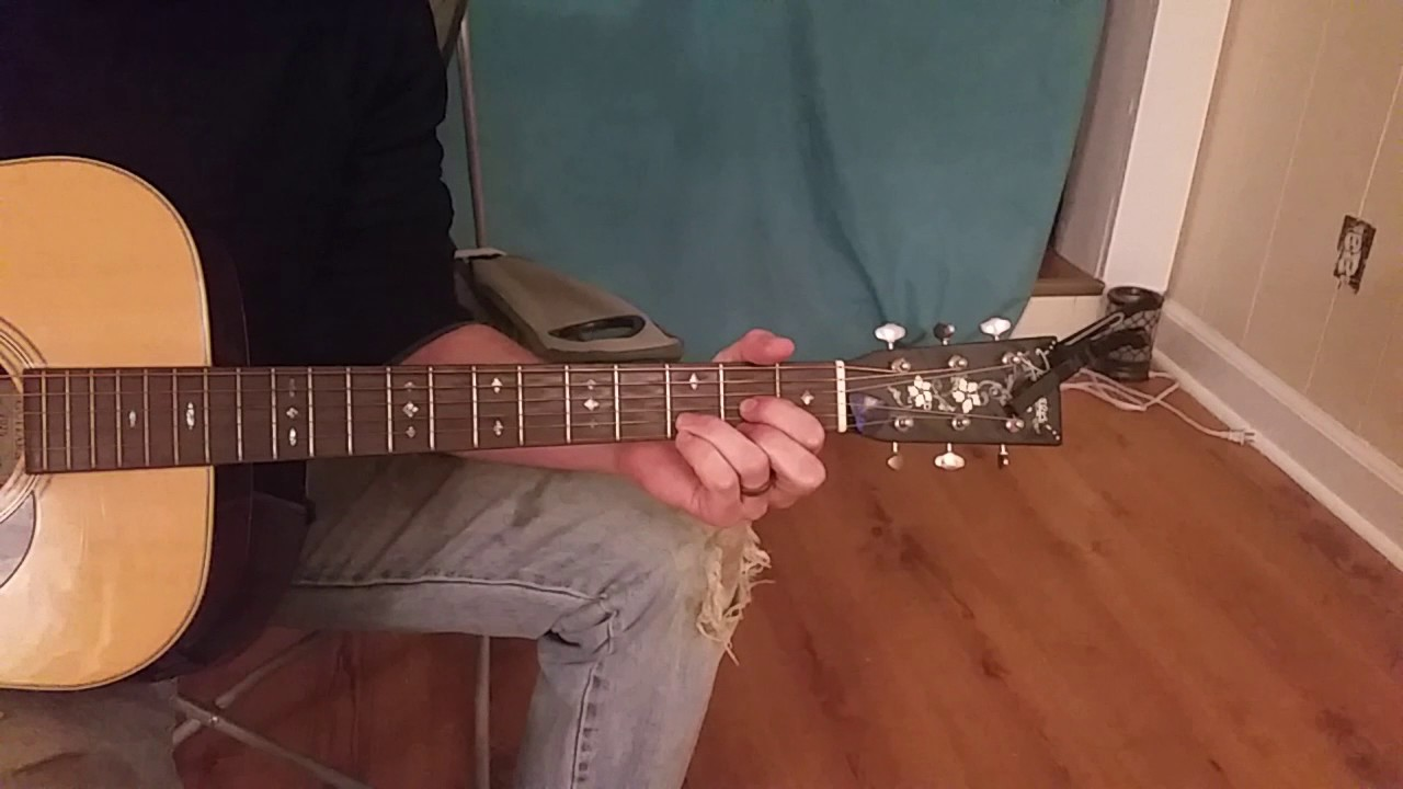 Guitar D Chord Left Hand Position Youtube
