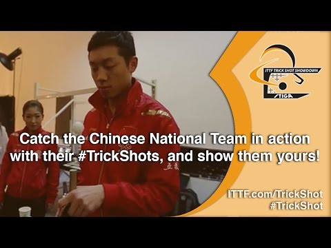 The Chinese National Team Can Do Trick Shots... Can you?