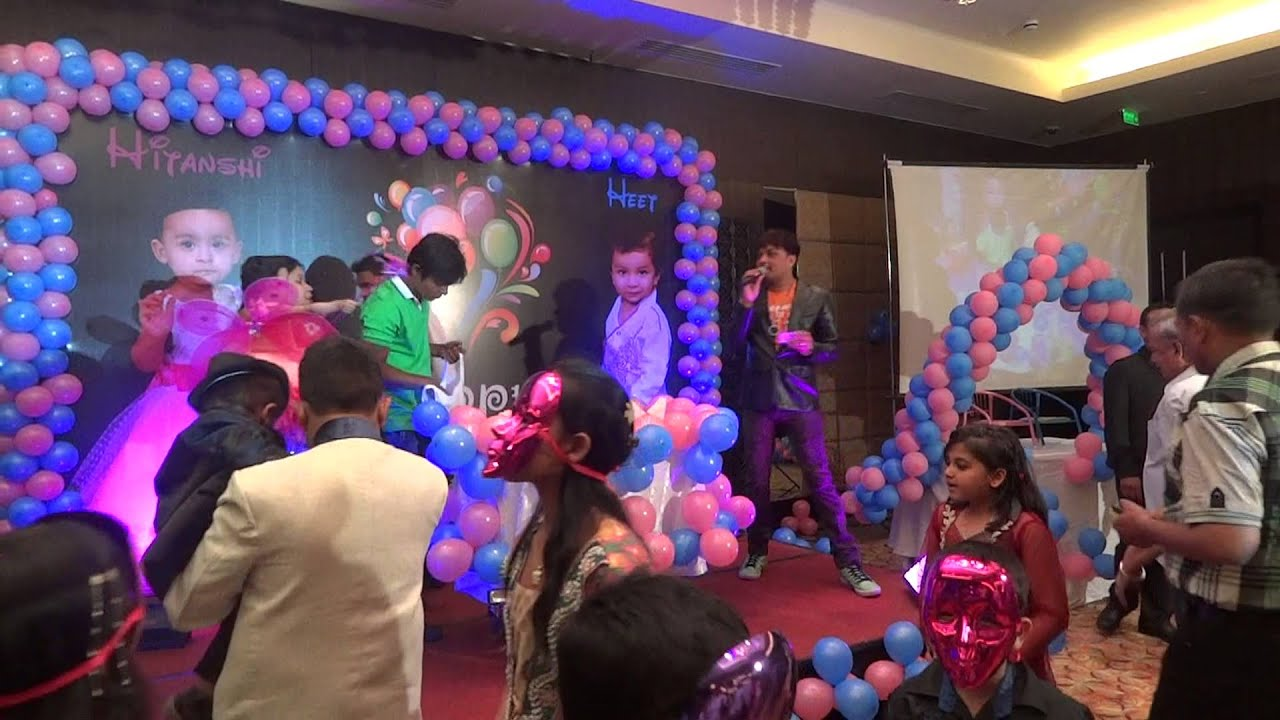 Birthday Party Indore Radisson India Crazy Chaps Event Organiser 09826181112 Youtube