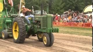 Antique tractor pull, Midland Mi. 07/12/2014