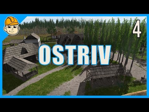 Ostriv - Trading, Town Hall, and Livestock! - Ep. 4 - Let's Play Ostriv Gameplay
