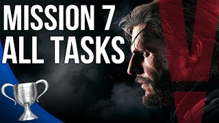 Metal Gear Solid 5 Phantom Pain - Red Brass All Tasks (Mission 7)