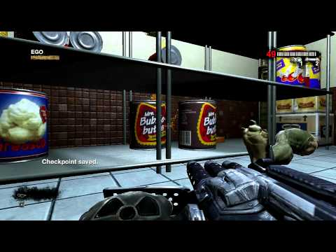 Duke Nukem Forever: Walkthrough - Part 1 [Chapter 12] - Duke Burger (Gameplay) [Xbox 360, PS3, PC]