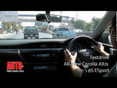 testdrive all-new corolla altis 1.8S ESport 2014