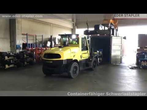 Lieblings Containerfähige Schwerlaststapler Hyster von Eder Stapler - YouTube &EQ_75
