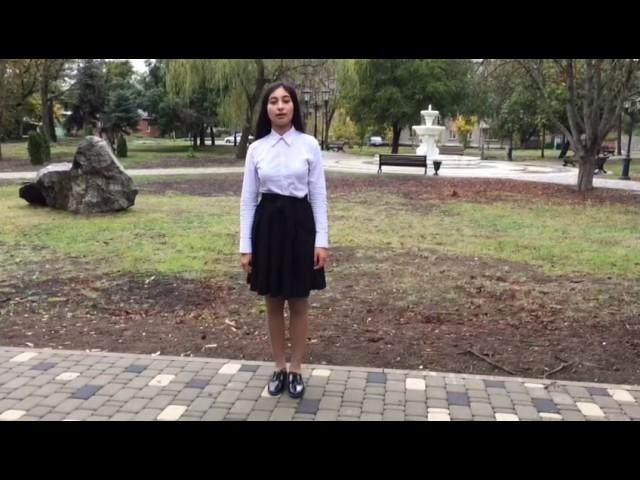 Изображение предпросмотра прочтения – КристинаАйрапетова читает произведение «Туманные ночи (Вся дрожа, я стою на подъезде…)» В.Я.Брюсова