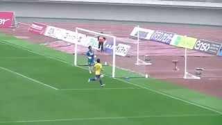 2014.04.20 第8節 FC岐阜対栃木SC 湯澤選手の3点目ゴール!