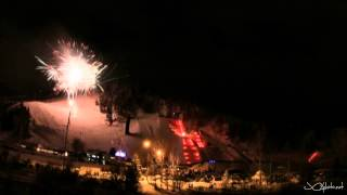 Time-lapse Photography: Steamboat Springs Colorado Winter Carnival Night Extravaganza