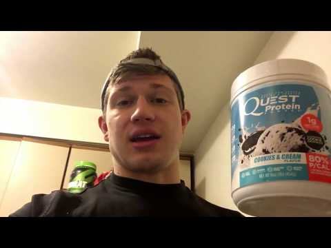 Product Review: Quest Cookies & Cream Protein Powder