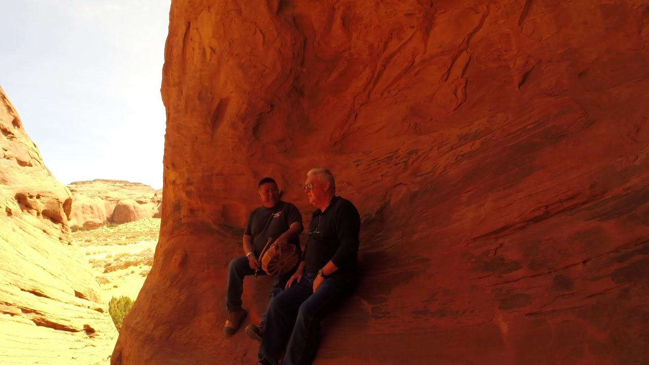 Tony Navajo Guide Sings Indian Songs