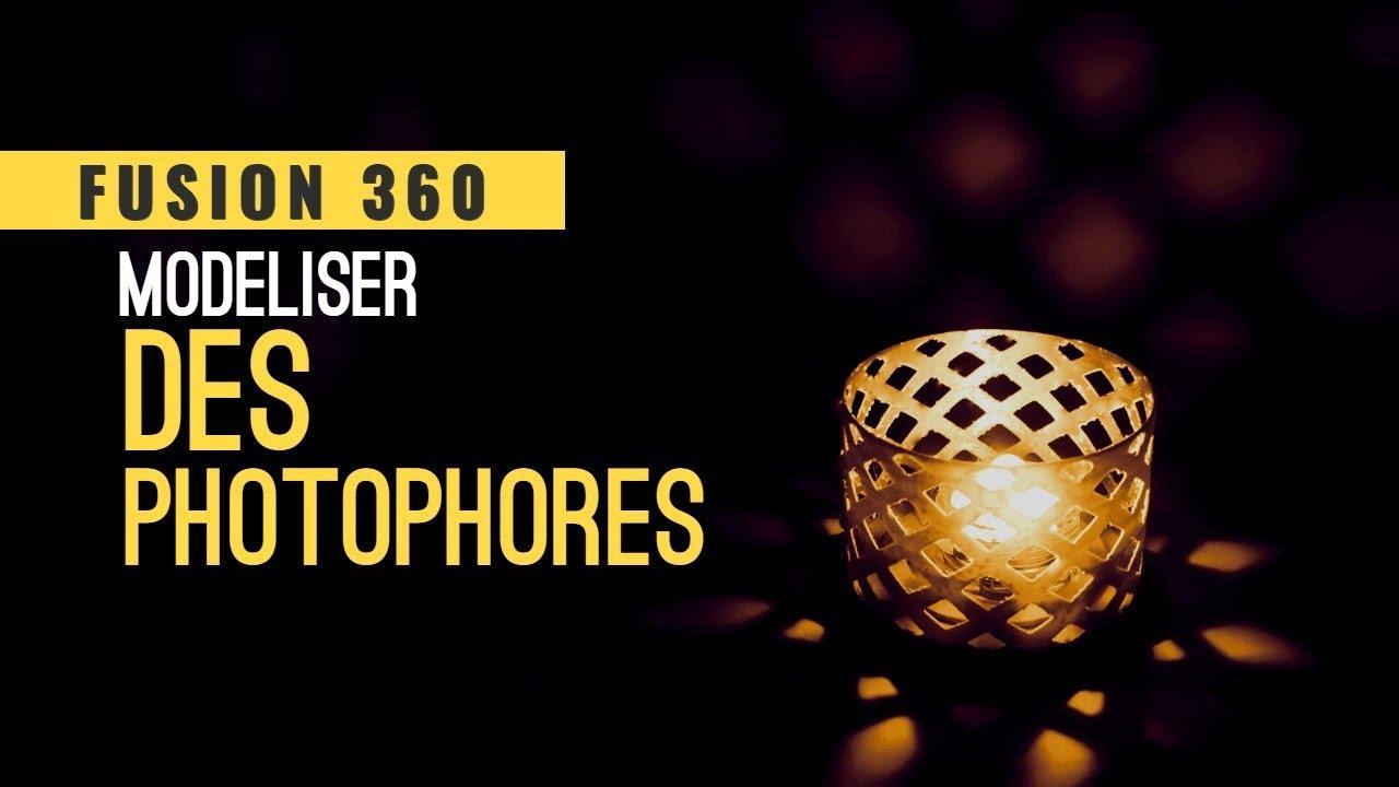 Fusion 360 - Création de photophores