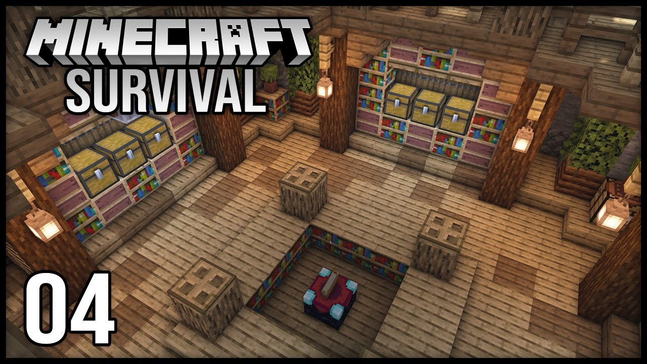 Minecraft 1.17 Survival Let's Play - Episode 4 - Getting into Enchanting!!!