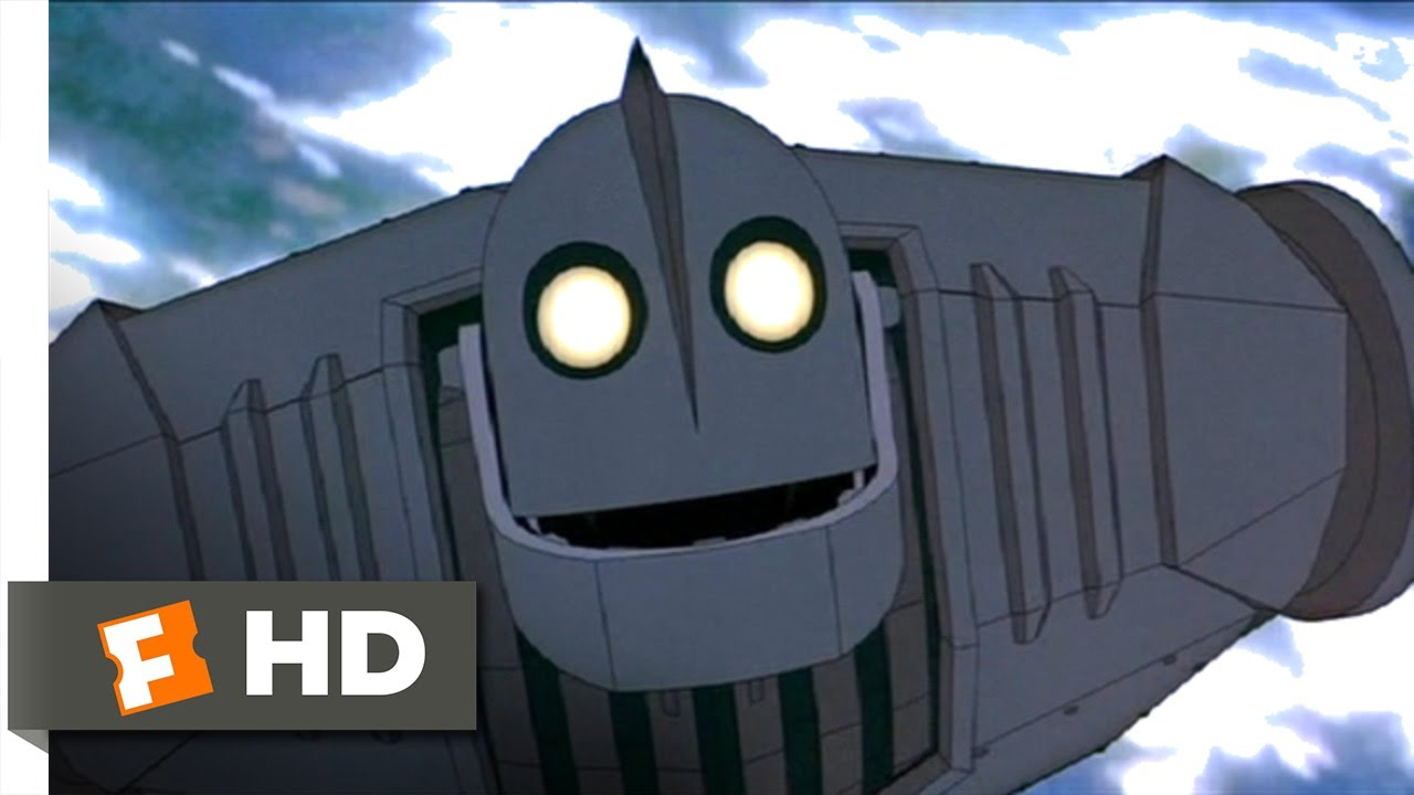 The Iron Giant 910 Movie Clip Superman 1999 Hd Youtube