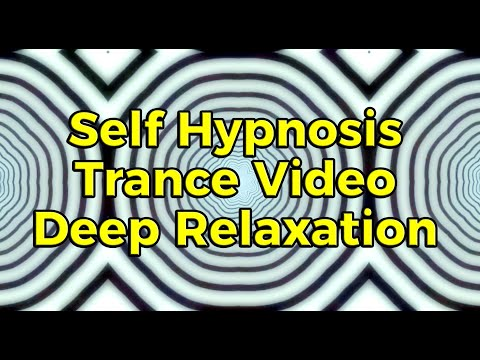 Self Hypnosis Trance Video, Deep Relaxation - 1hour