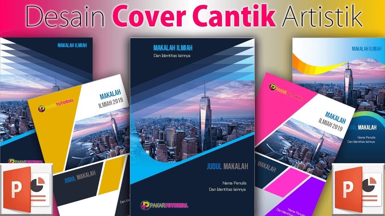 Cara Membuat Desain COVER Makalah yang Cantik dengan PowerPoint