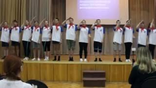 ГТО. Выступление команды 8