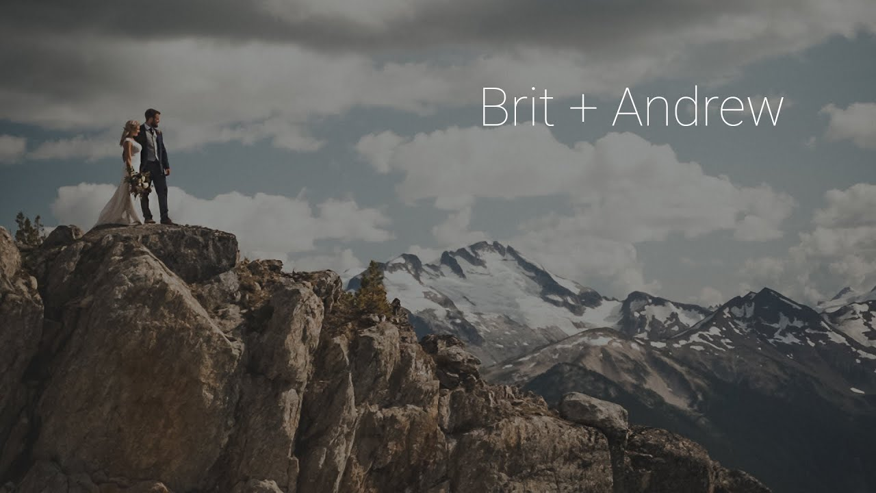 Whistler Peak Elopement | Brit + Andrew | Paul Cameron Productions