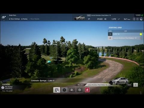 GT Sport Colorado Springs 2 Rally