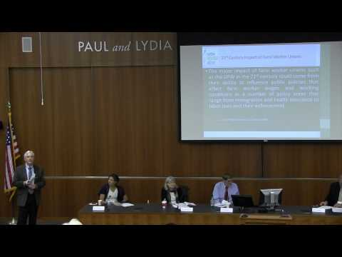 Agriculture and Farm Labor Since 1975; Discussants: Barry Bedwell, Don Villarejo