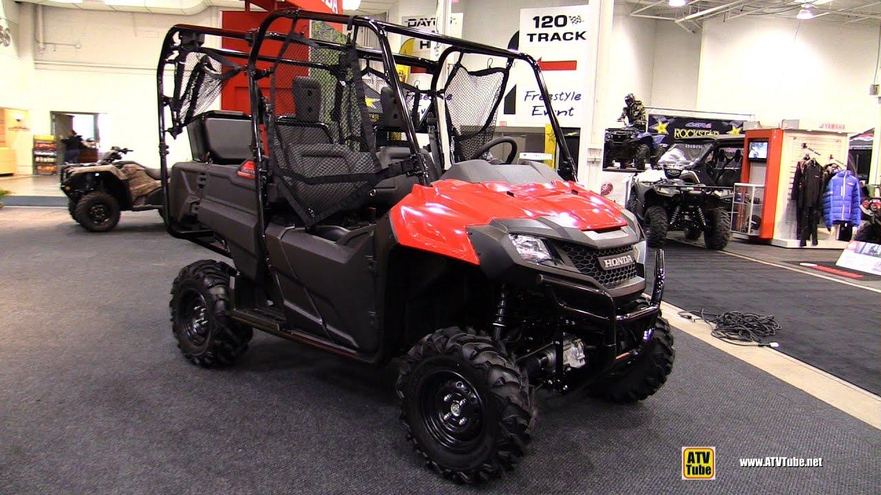 2016 Honda Pioneer 700 4 Utility ATV Walkaround 2015 Toronto