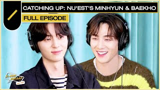 "MINHYUN & BAEKHO From NU'EST (뉴이스트) On Being Roommates & 2nd Full Album ""Romanticize 