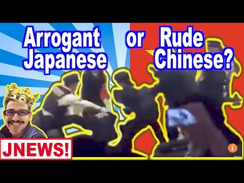 "Why do Japanese Condescend to ""rude"" Chinese? (JNEWS)"