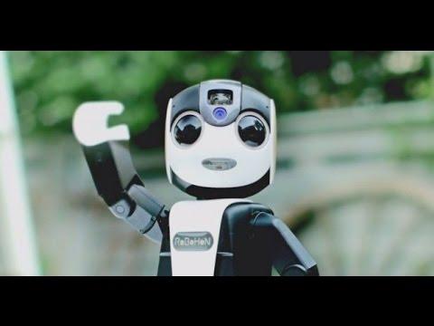 Robohon - Siêu phẩm điện thoại dạng ROBOT sắp ra mắt