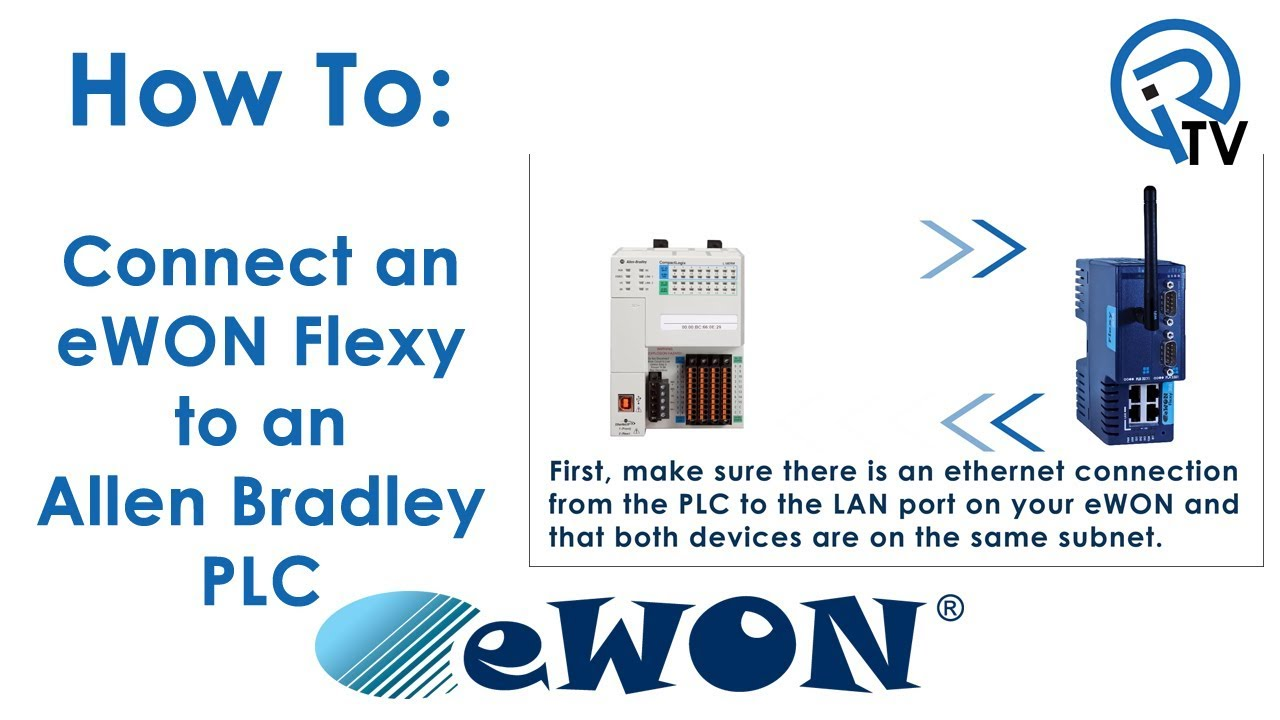 Connecting eWON Flexy to Allen Bradley PLC