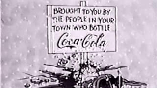 A Charlie Brown Christmas 1965 Coke sponsor promo