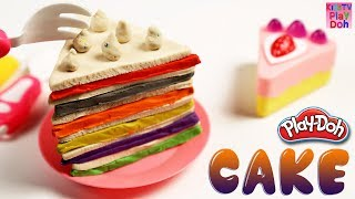 DIY How to Make Play Doh Cake Modelling Clay Learn Colors with Play Doh Baby Toys for Kids | Kids TV