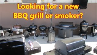 Need a new smoker or BBQ grill, Watch this Video.