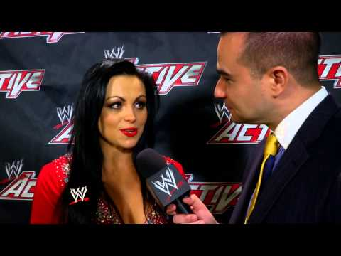 Aksana discusses Trish Stratus being inducted into the WWE Hall of Fame: WWE.com Exclusive, April 9,