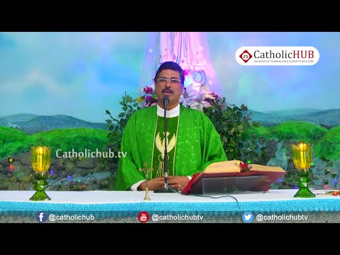 Holy Mass by: Rev.Fr.Louis Kajar (P.P) English @ Our lady of Fathima Shrine, Karjat, MH.13-02-2020