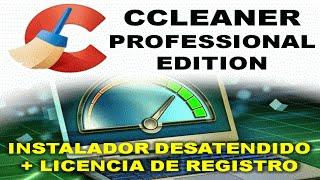 CCleaner Professional Edition 5.41.6446 + Licencia desatendido (Español/Multilanguage) 32/64bits