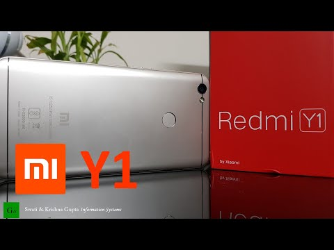 [Hindi,हिन्दी] Xiaomi Redmi Y1 Gold Unboxing & Review (Camera & Video, Display Comparison)