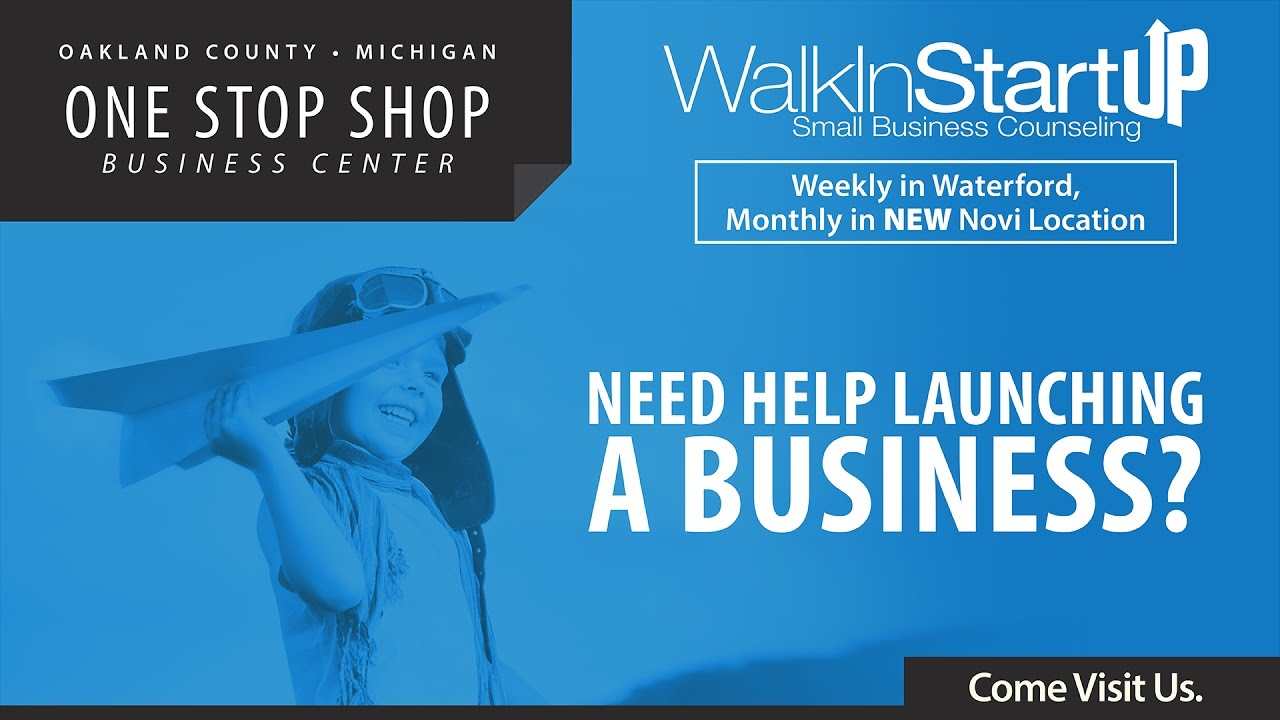 WalkIn StartUp One Stop Shop - Us counties starting with z