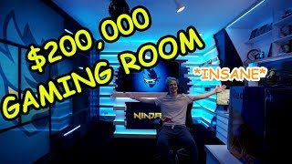 *INSANE* NINJA'S NEW GAMING ROOM 🔥 *NEW* GALAXY SKIN - Fortnite Streamers Funny Fails&Wins Moments