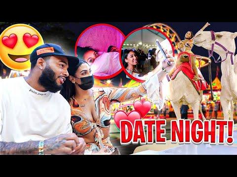 DATE NIGHT 😍   HE WON ME A PRIZE‼️