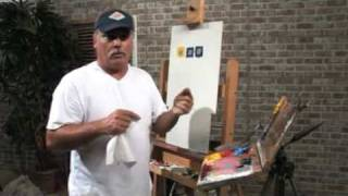 Free Art Lesson - Mike Rooney - Greying Out Color PT3