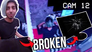 He Broke My Gaming Monitor 😳