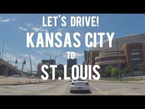 Let's Drive - Kansas City to Downtown St. Louis, Missouri