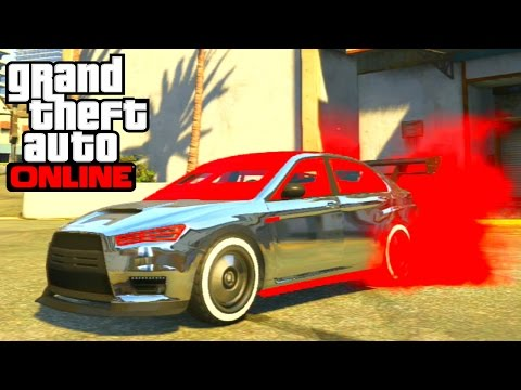 GTA 5 Online - Karin Kuruma (Armored) Full Customization Paint Job Guide