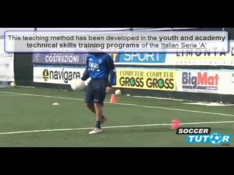 italian soccer style academy technical skills