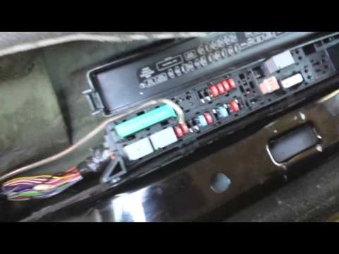 Cadillac Cts Double Din Install Prt2